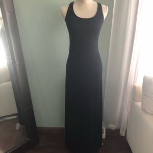 Black Crotchet Back Maxi Dress • XS • Never Worn!